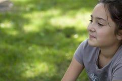 мечтая девушка Стоковая Фотография RF