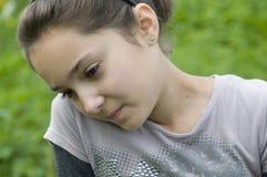 мечтая девушка Стоковые Фотографии RF