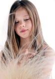 мечтая девушка немногая Стоковая Фотография