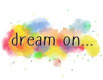 Мечта дальше Стоковая Фотография RF