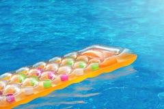 Мечта бассейна лета Стоковое Изображение