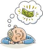 Мечта денег иллюстрация вектора