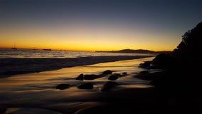 Мечта захода солнца Стоковая Фотография RF