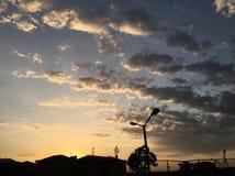 Мечты захода солнца Стоковые Изображения RF