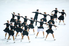 Мечты команды холодные старшие Стоковое Фото