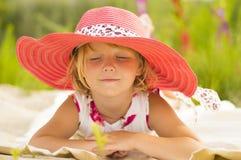 Мечты маленькой девочки Стоковая Фотография RF