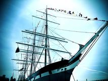 Мечты морского порта Стоковые Изображения