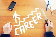 Мечты о росте карьеры в жизни Стоковые Изображения