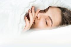 Мечты спокойной ночи сладостные Стоковое Фото
