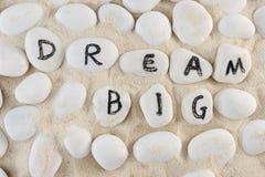 Мечт большие слова Стоковые Фотографии RF