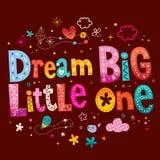 Мечт большое маленькое одно Стоковые Фотографии RF