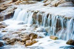 Мечт водопад океаном Стоковые Изображения