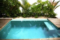 Мечт гостиница в тропических джунглях Стоковые Фото