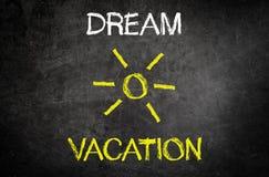 Мечт концепция каникул Стоковое Фото