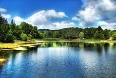 мечт озеро hdr Стоковое Изображение RF