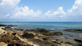 Мечт пляж в острове. Стоковая Фотография RF