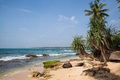 Мечт пляж на Индийском океане Стоковая Фотография RF
