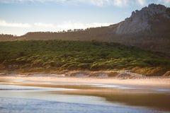 Мечт пляж Bolonia, Тарифы, Андалусии Испании Стоковое фото RF
