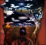 Мечт разум Стоковое Изображение