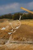 Мечт смертная казнь через повешение улавливателя в районе неорошаемого земледелия Стоковое Изображение