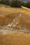 Мечт смертная казнь через повешение улавливателя в районе неорошаемого земледелия Стоковое Изображение RF