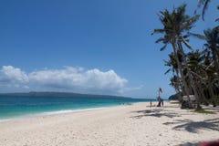 Мечт boattrip Boracay пляжа, Филиппины Стоковые Изображения RF