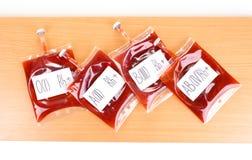 Мешки крови Стоковые Изображения RF