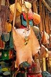 Мешки, портмона, шлемы и другие продукты Стоковые Фото