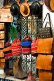 Мешки, портмона, шлемы и другие продукты Стоковое Изображение RF