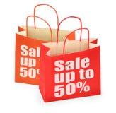 мешки ходя по магазинам 2 Стоковые Фотографии RF