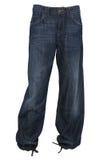мешковатые брюки джинсыов стоковые изображения