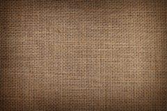 Мешковина или текстура увольнения для предпосылки стоковые изображения rf