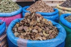 Мешок гренадина в souk Marrakech на Марокко Стоковые Фотографии RF