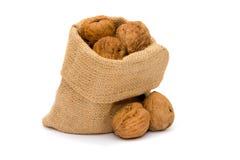 Мешок грецких орехов Стоковое Изображение