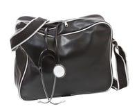 Мешок доктора с стетоскопом. Стоковое Изображение RF