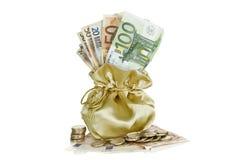 Мешок денег Стоковые Фото