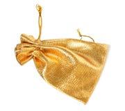 мешок золотистый Стоковые Фотографии RF