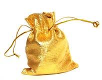 мешок золотистый Стоковая Фотография RF