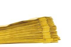 Мешок печатных документов Стоковые Фотографии RF