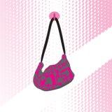 Мешок способа розовый Стоковая Фотография