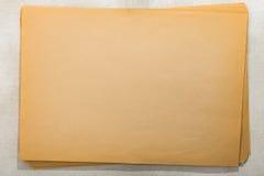 Мешок старых бумажных листов Стоковое фото RF