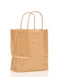 Мешок Brown бумажный Стоковые Изображения RF