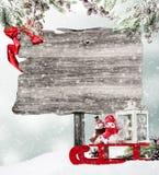 мешок claus santa Стоковая Фотография RF