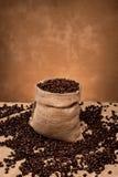 Мешочек из ткани кофе Стоковое Фото