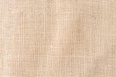Мешочек из ткани, картина предпосылки текстуры пеньки Стоковые Изображения RF