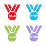 Медали вознаграждением Стоковые Фото