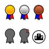 медали Стоковые Изображения RF