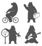 Медведи потехи знака Стоковое Фото