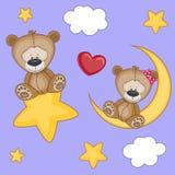 Медведи любовников бесплатная иллюстрация