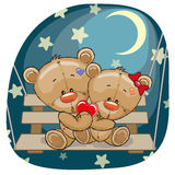 Медведи любовников Стоковое фото RF